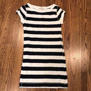 Banana Republic Striped T-shirt Dress
